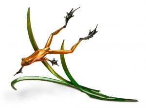 "Free Spirit, Medium: Bronze Catalog: BF98 Size: 13"" x 21.5"" x 8"" Artist: Frogman"