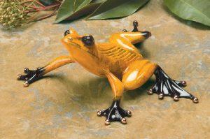 "Sneaky Pete, Medium: Bronze Catalog: BF66 Size: 2.25"" x 5.75"" x 5.5"" Artist: Frogman"