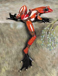 "Willie Jump, Medium: Bronze Catalog: BF45 Size: 30"" x 20"" x 14"" Artist: Frogman"