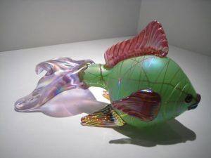 Fish Sculpture Artist: Stuart Abelman Catalog: 163-9-9 #20522 Price: $690.00 REDUCED: $295.00