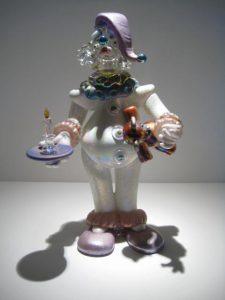 Closet Monster Clown Sculpture Artist: Stuart Abelman Catalog: 435-60-6 #19411 Price: $2,100.00 REDUCED: $1,200.00