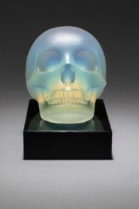 Opaque Skeleton, Glass, Artist: George Bucquet