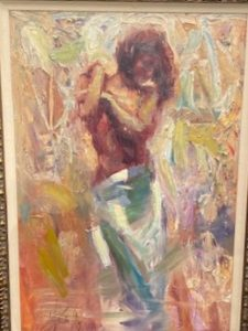 Transition, Hand embellished Giclee Artist: Asencio 20x30 #16335 Price: $4,150.00 REDUCED: $1,200.00